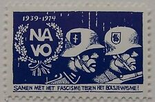 Netherlands - Anti-NATO stamp of the political party PSP 1974