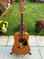 Morris Acoustic W30 Guitar Right Handed Rare Instrument W / Gig Bag