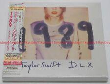 New TAYLOR SWIFT 1989 Deluxe Edition CD DVD Photo Bonus Track Japan POCS-24009