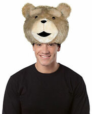 Rasta Imposta # 4751 Ted Movie Mascot Bear Head Hat Adult Size Costume Accessory