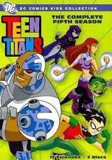 Teen Titans Complete Fifth Season 0085391185604 DVD Region 1