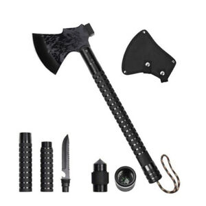 Foldable Camping Axe Multi-Tool Kit Survival Emergency Outdoor Axe Wild Survival