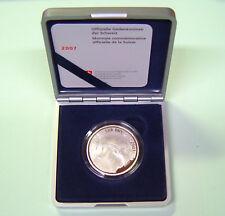 Schweiz 20 sfr. 2007 100 Jahre Nationalbank PP