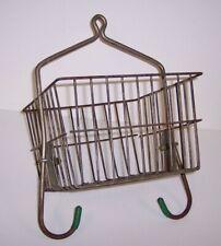 Vintage Miners Locker Basket Pennsylvania COAL MINE Used