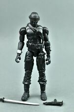 "GI Joe ROC Rise of Cobra Snake Eyes Ninja Commando 3.75"" v43 Hasbro"