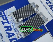 aluminum radiator FOR YAMAHA YZ250 YZ 250 2-STROKE 1986-1989 1987 1988 1989