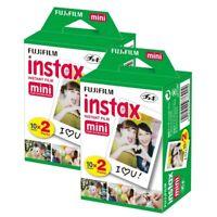 Fujifilm Instax Mini Instant Film Twin Packs For All FujiFilm MINIS 40 SHEETS