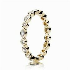 Genuine Pandora 14K Alluring Brilliant Marquise Ring Size 5 150183CZ-50 with box