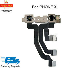 For IPhone X Front Camera, Sensor & Siri Microphone Flex Cable Replacement UK