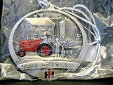 IH International Farmall M Tractor 2004 Pewter Christmas Ornament  1st IN SERIES