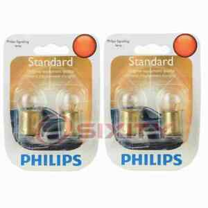 2 pc Philips Tail Light Bulbs for Dodge Monaco Polara 1972 Electrical ok