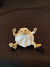 Vintage Hagen Renaker Little Horribles White Caveman Sitting Arms Up Figurine