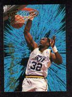 """1994-95 Fleer Ultra Power #5 Karl Malone Utah Jazz HOF Insert Card  """"mrp""""  NM+"""