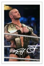 RANDY ORTON Signed Autograph PHOTO Fan Gift Signature Print WWE WRESTLING