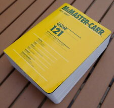 McMaster-Carr Catalog #121 New Jersey