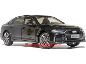 1:18 FAW Audi 2019 A6 L Mythosschwarz M. (Mythos Black M.) Händler Auflage