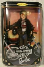 Harley Davidson Red Head Biker Chick Barbie Doll Collector Edition 1998 #20441