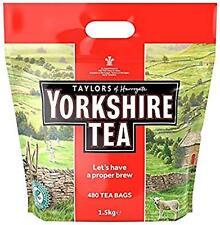 Taylors of Harrogate Yorkshire Tea Approx 480 Tea Bags 1.5Kg Black Tea