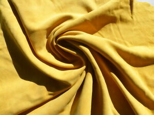 goatskin goat leather suede hide Wheat Yellow drapey butter soft & strong