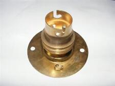 brass bayonet B22,BC lamp holder batten fix mounting plate,shade ring & earth