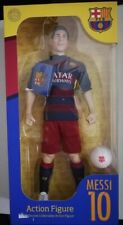 "FC Barcelona Lionel Messi Football Muneco Action Figure 12"" INCH QATAR AIRWAYS"