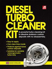 Diesel Engine Turbo Cleaner Cures Limp Home Mode Variable Vane Turbos