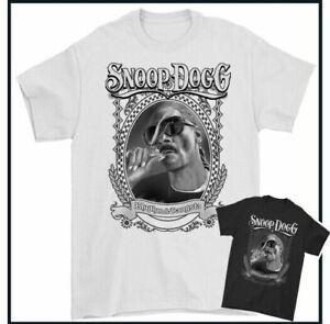 SNOOP DOGG T-SHIRT Death Row Records RAP Hip Hop Unisex TEE TOP Music