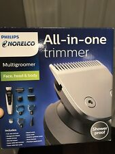 Philips Norelco Multi Groomer 7500 Hair Clippers Mens Grooming Kit New Sealed