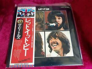 BEATLES LET IT BE APPLE EAS-80561 VINYL LP from Japan Red Apple Export Rare