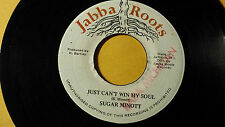 "Sugar Minott - Just Can't Win My Soul Roots /Reggae 45"" on Jabba Roots  Label"
