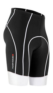 Louis Garneau Neo Power Bike Bicycle Cycling Shorts - Black/White - Small