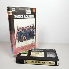 Police Academy Cult Comedy VHS Video Tape  RARE HTF Big Box Warner Home Video