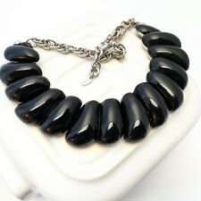 Black statement necklace LK Bennett
