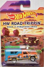 HOT WHEELS HW ROAD TRIPPIN' ROAD 14 TURQUOISE TRAIL BACKWOODS BOMB
