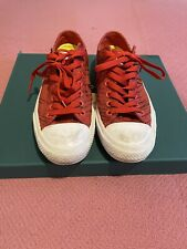 Converse All Star - Red Trainers, Size UK 9