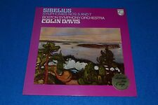 Sibelius Symphonies Nos. 5 & 7~Boston Symphony Orchestra~Colin Davis~IMPORT
