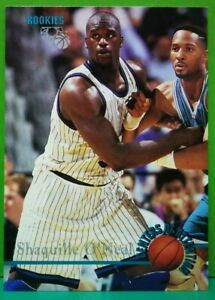 Shaquille O'Neal card 1995 Classic Basketball Rookies #105