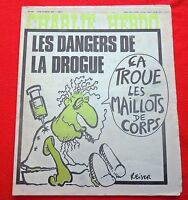 CHARLIE HEBDO n°326 du 10 février 1977. Couverture REISER. Etat neuf