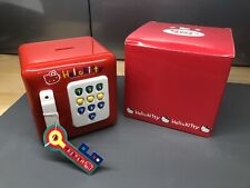 New With Tag Mint Hello Kitty Vintage Piggy Bank Safe Lock Box Electronic 1995
