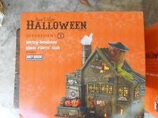Dept 56 Halloween Village Harley-Davidson Ghost Riders Club Nib