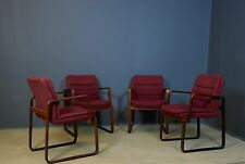 SET OF 4 KINNARPS DANISH STYLE OFFICE DINING / OFFICE CHAIRS