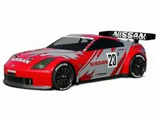 HPI NISSAN 350Z NISMO GT RACE BODY (190MM) Unpainted Body NEW HPI-7385