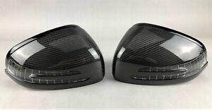 Mercedes AMG GT & SLS 197 SL 231 SLK 172 Original Carbon Spiegel mirror housings