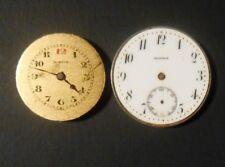 Antique Moeris Swiss 2 Military Wristwatch Movements 15J WW2 Vintage