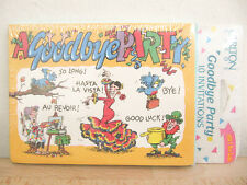NEW Carlton Cards Ways to Say Bye 10 Goodbye Party Invitations & Envelopes
