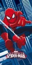 Marvel Spiderman Spider Man Spinne 1 x Badetuch Tuch Handtuch Strandtuch