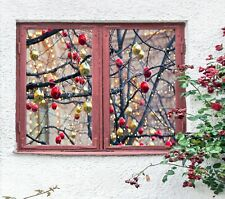 3D Ball N547 Christmas Window Film Print Sticker Cling Stained Glass Xmas Fay