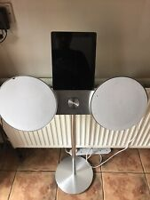 More details for bang and olufsen white beosound 8 with rare stand