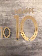 Flocage équipe de FRANCE  100 Ans Centenaire MBappe 10 ⭐️⭐️ Livraison express