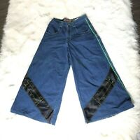 JNCO Jeans Solid State Reflective Appearance 2000 Wide Leg Men's Size 30W 32L